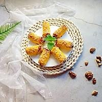 红豆沙核桃土司卷