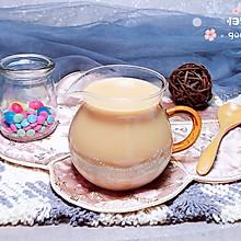 香芋奶茶 #一道菜表白豆果美食#