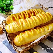 毛毛虫肉松面包(中种法)