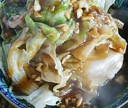 浇汁圆生菜的做法