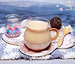 香芋奶茶 #一道菜表白豆果美食#的做法