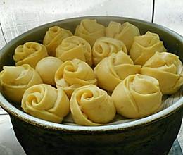 南瓜玫瑰馍的做法