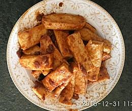 黄豆酱焖烧豆腐的做法