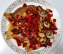 香辣平鱼,煎鱼不粘锅方法的做法