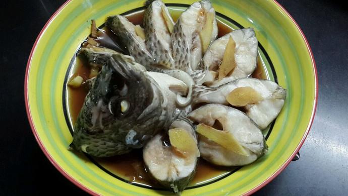 清蒸罗非鱼(清淡饮食)