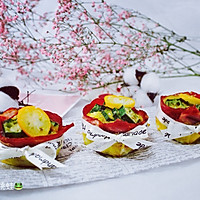 秋葵鸡蛋培根杯
