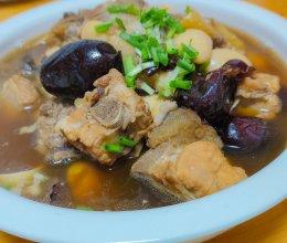 大豆排骨汤的做法
