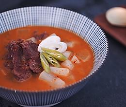 [快厨房]韩式辣牛肉汤的做法