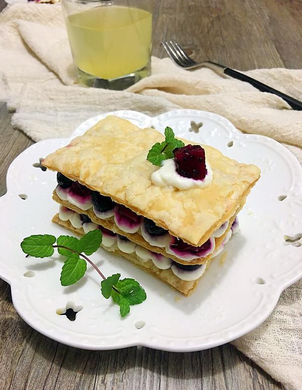 拿破仑蛋糕(简易版)的做法