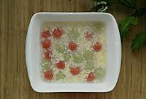 酒酿蔬菜糯米圆子的做法