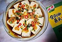 金剁椒蒸臭豆腐的做法