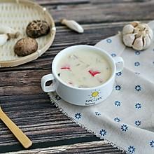 蟹柳蘑菇奶油汤