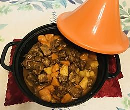 塔吉锅~红酒炖牛腩(让孩子们爱上吃饭吃菜菜)的做法