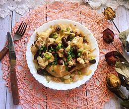 #秋天怎么吃#红葱头红枣蒸鸡的做法