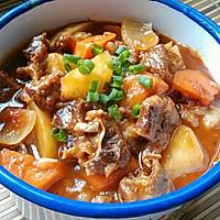 土豆炖牛肉的做法图解9