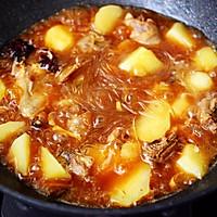 #就是红烧吃不腻!#土鸡土豆粉条一锅炖的做法图解14