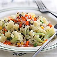 西式沙拉--三色黎麦花菜沙拉#宜家让家更有味#的做法图解16
