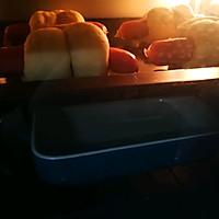 【面包机版】兔兔热狗面包的做法图解9