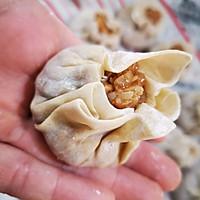 偷懒用饺子皮做烧卖详解的做法图解10