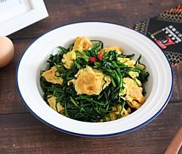 【韭菜炒鸡蛋】鲜美素食的做法