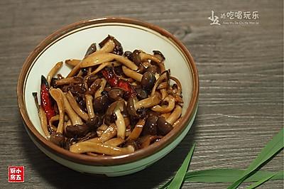 油浸蟹味菇:打开味觉的菌香