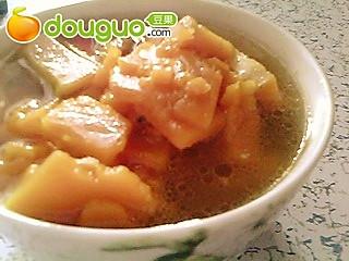 电热锅版南瓜片汤的做法