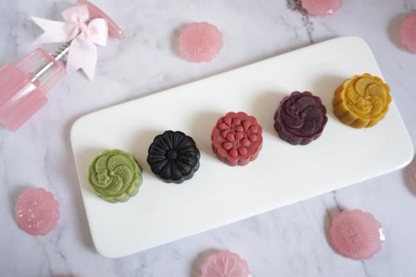 今年最流行的桃山皮流心月饼,私房必学的做法