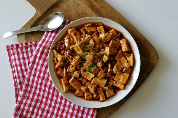 快手5分钟 麻婆豆腐的做法