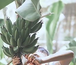 #以美食的名义说爱她#面包糠炸香蕉的做法