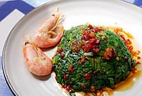 #餐桌上的春日限定#凉拌菠菜塔的做法