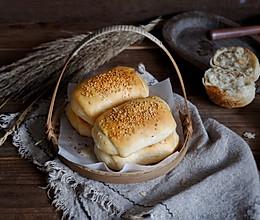 芝麻油盐烧饼#雀巢营养早餐#的做法