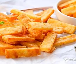 奶酪薯条脆 宝宝辅食食谱的做法
