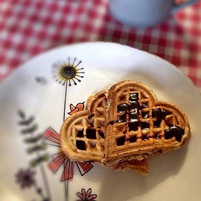 懒人版的幸福配方------酵母华夫饼
