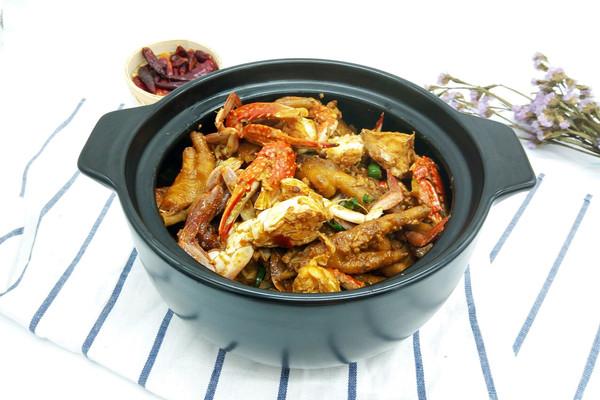 肉蟹煲#厨此之外,锦享美味#的做法