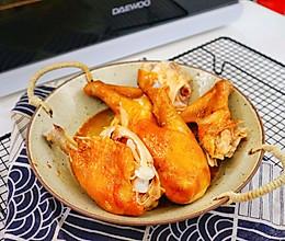 超嫩滑还会爆汁的烤鸡的做法