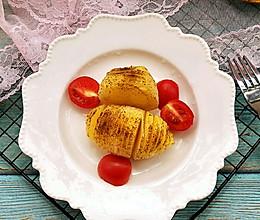 #美食新势力#黑胡椒烤千层土豆的做法