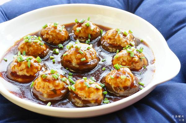 香菇酿肉的做法