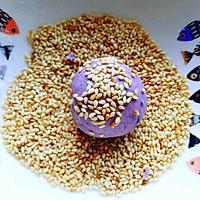 芝士紫薯球#每道菜都是一台食光机#的做法图解11