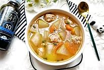 番茄冬瓜肉丸汤的做法
