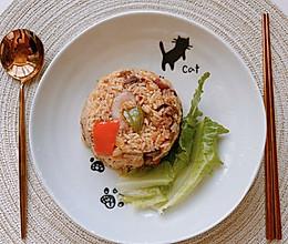 肥牛泡菜炒饭的做法