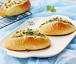 香葱面包的做法