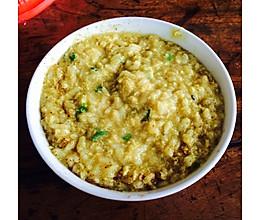 咖喱蛋花粥的做法