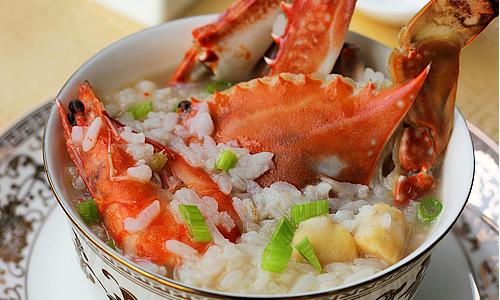 海鲜粥  的做法