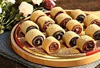 简单易做的传统小吃~   豆沙&黑芝麻驴打滚儿的做法