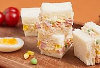 【土豆沙拉三明治】外卖50元的营养餐,在家这样做只需10元!的做法