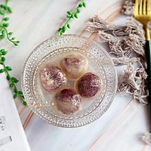 #憋在家里吃什么#水晶紫薯汤圆