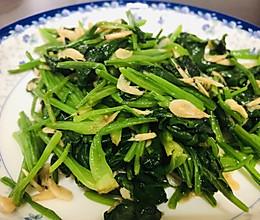 清炒菠菜虾皮的做法