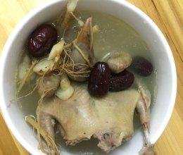 人参鸽子汤的做法