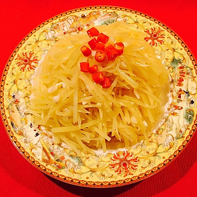 凉拌土豆丝