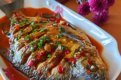 五步做成色香味俱全的红烧鱼